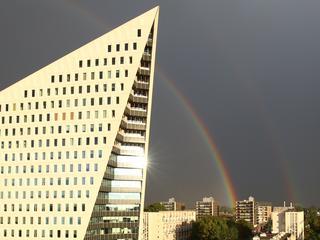 Zaterdag zes graden in Amsterdam