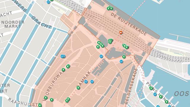 Amsterdam publiceert kaart met locaties camera's en sensoren