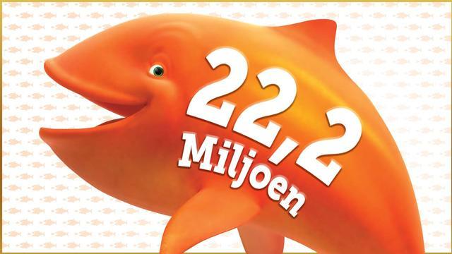 De Mega Jackpot staat op 22.200.000 euro bij Staatsloterij