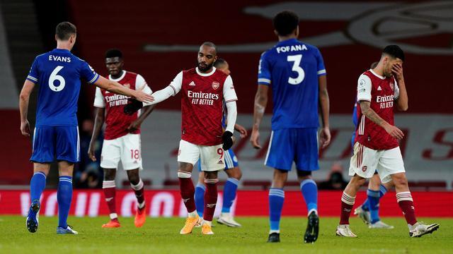 Arsenal thuis onderuit tegen Leicester, Weghorst scoort voor Wolfsburg