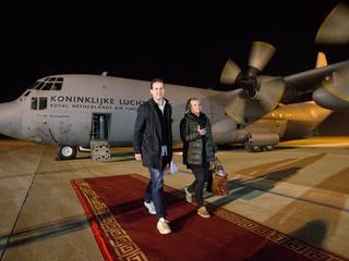 Duo bezoekt onder andere de Nederlandse militairen