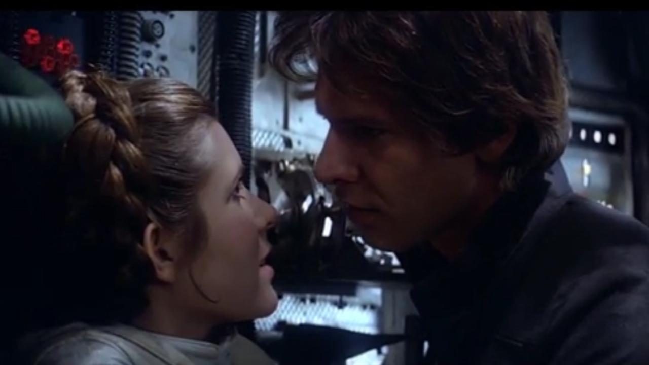 Carrie Fisher als Princess Leia in Star Wars