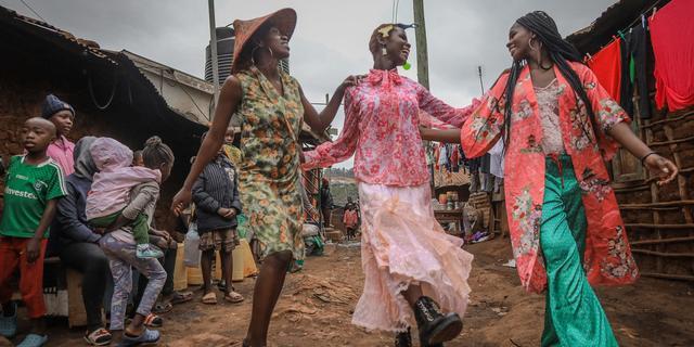 Heel langzaam verdwijnt het traditionele leven in Kenia
