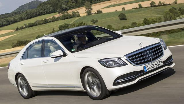Rij-impressie Mercedes-Benz S-klasse