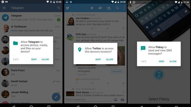 Android-permissies