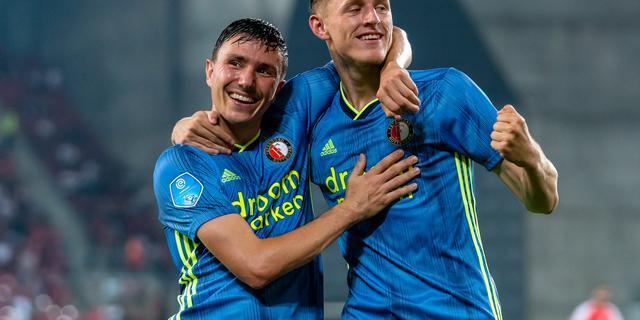 Feyenoord plaatst zich voor Europa League na eenvoudige zege in Israël