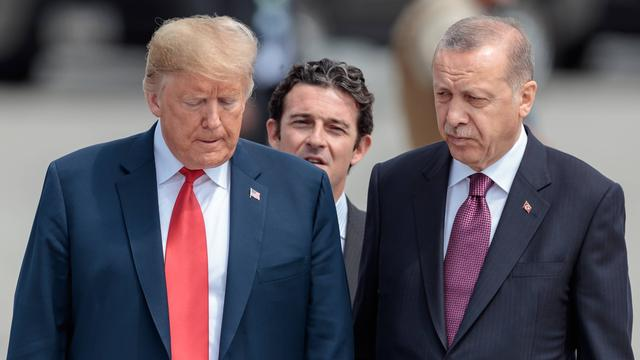 'Erdogan gooide brief van Trump in de prullenbak'