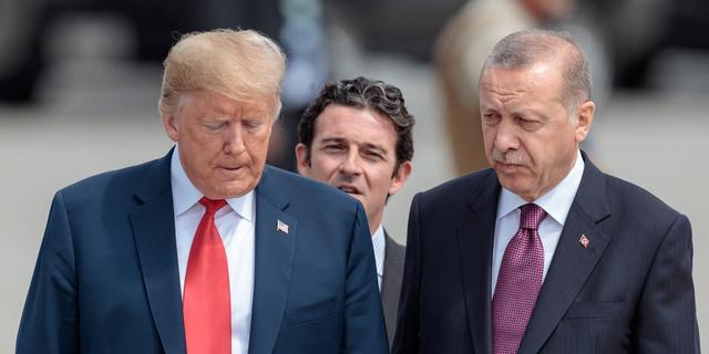 'Erdogan gooide brief van Trump in de prullenbak'