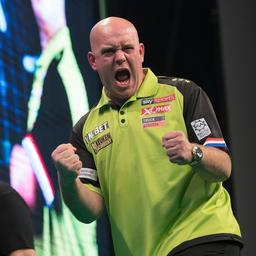 Van Gerwen vernedert Cross en neemt koppositie over in Premier League