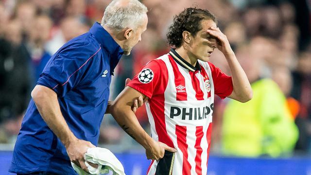 PSV nog vier tot zes weken zonder geblesseerde Guardado