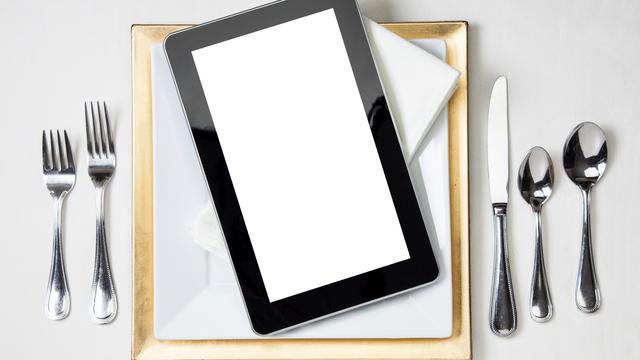 Dit Michelin-sterrenrestaurant serveert eten op iPads