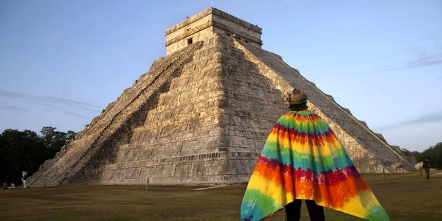 Ondergronds meertje onder grote Mayatempel ontdekt in Mexico