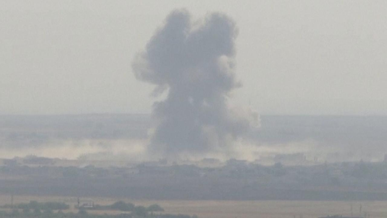 Turkije bestookt Koerdische militie met luchtaanvallen en artillerie
