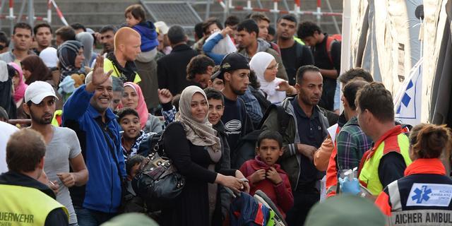 Duizenden vluchtelingen in München aangekomen