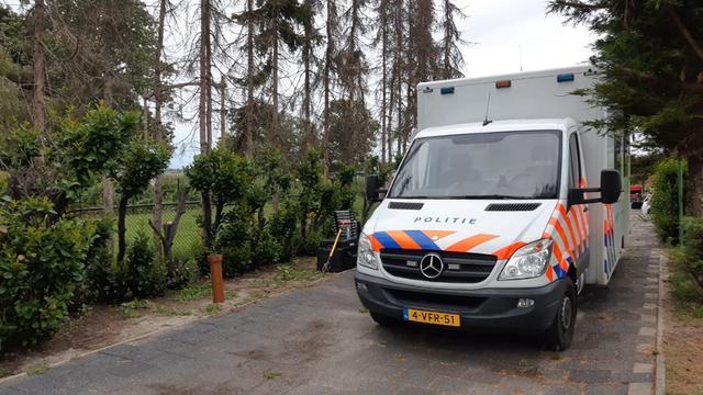 Wapenhandelaar Jan B. aangehouden, politie onderzoekt terrein in Hulten