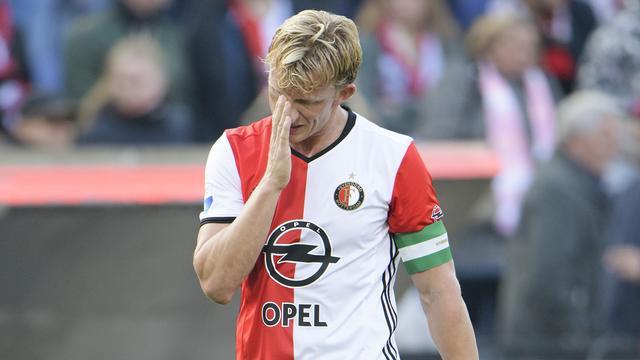 Feyenoord start zonder Kuijt en met Jörgensen tegen FC Utrecht