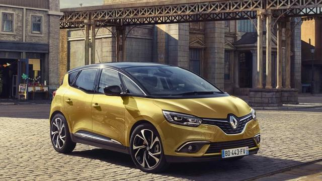 Eerste beeld nieuwe Renault Scénic