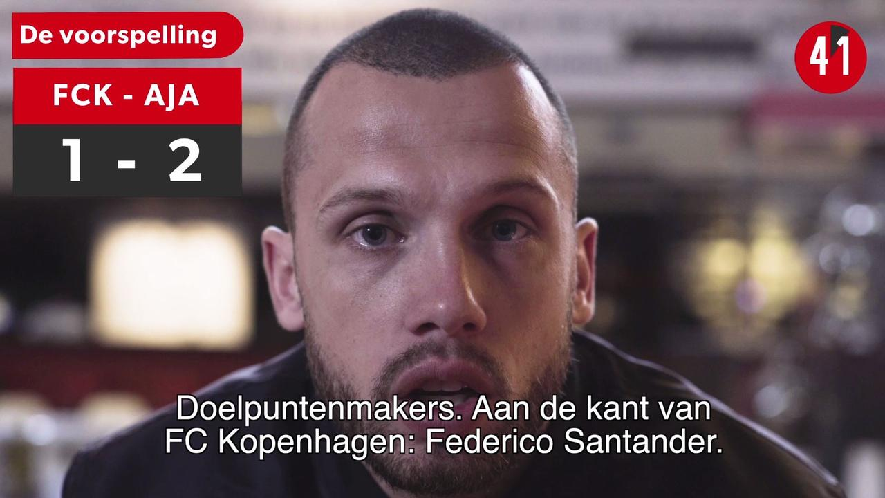 Waarom Ajax vanavond niet zomaar van Kopenhagen gaat winnen