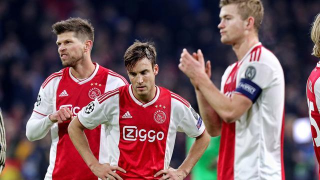 Ajax speelt in verhit CL-duel met Bayern gelijk en grijpt naast groepswinst