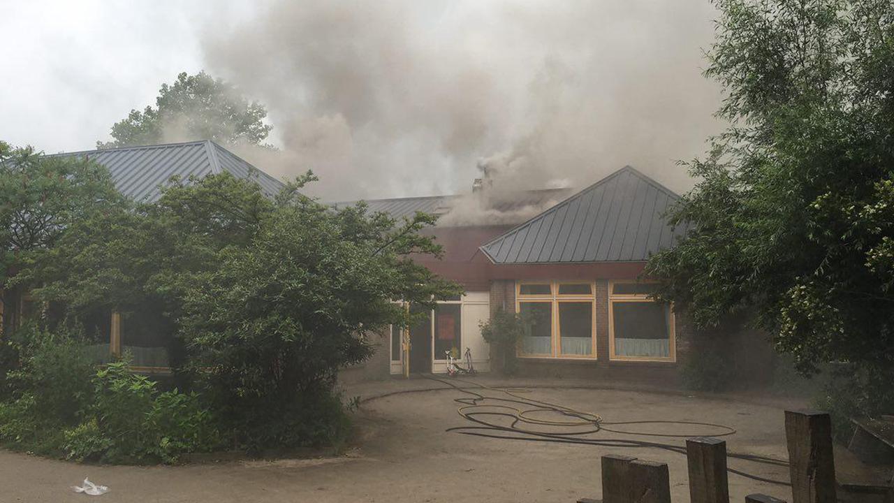Twee scholen Zutphen ontruimd vanwege brand