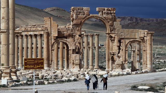 Door IS vernietigde monumenten herbouwd met 3d-camera's