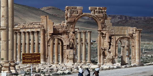 'IS begonnen met verwoesten van beelden in Palmyra'