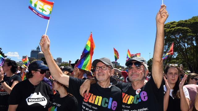 Homohuwelijkwet aangenomen door senaat Australië