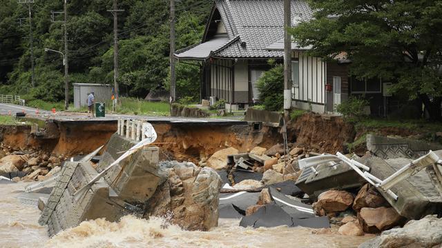 Dodental door extreem weer in Japan loopt verder op