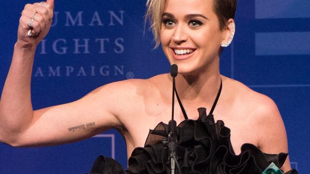 Katy Perry wil stap zetten naar 'volwassen vrouw worden'
