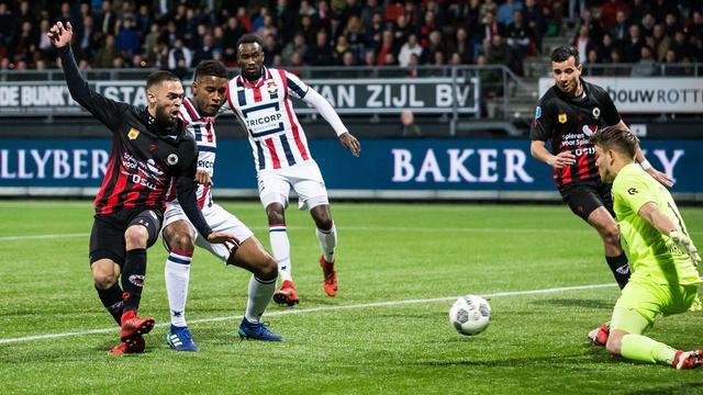 Excelsior doet goede zaken met nipte thuiszege op Willem II