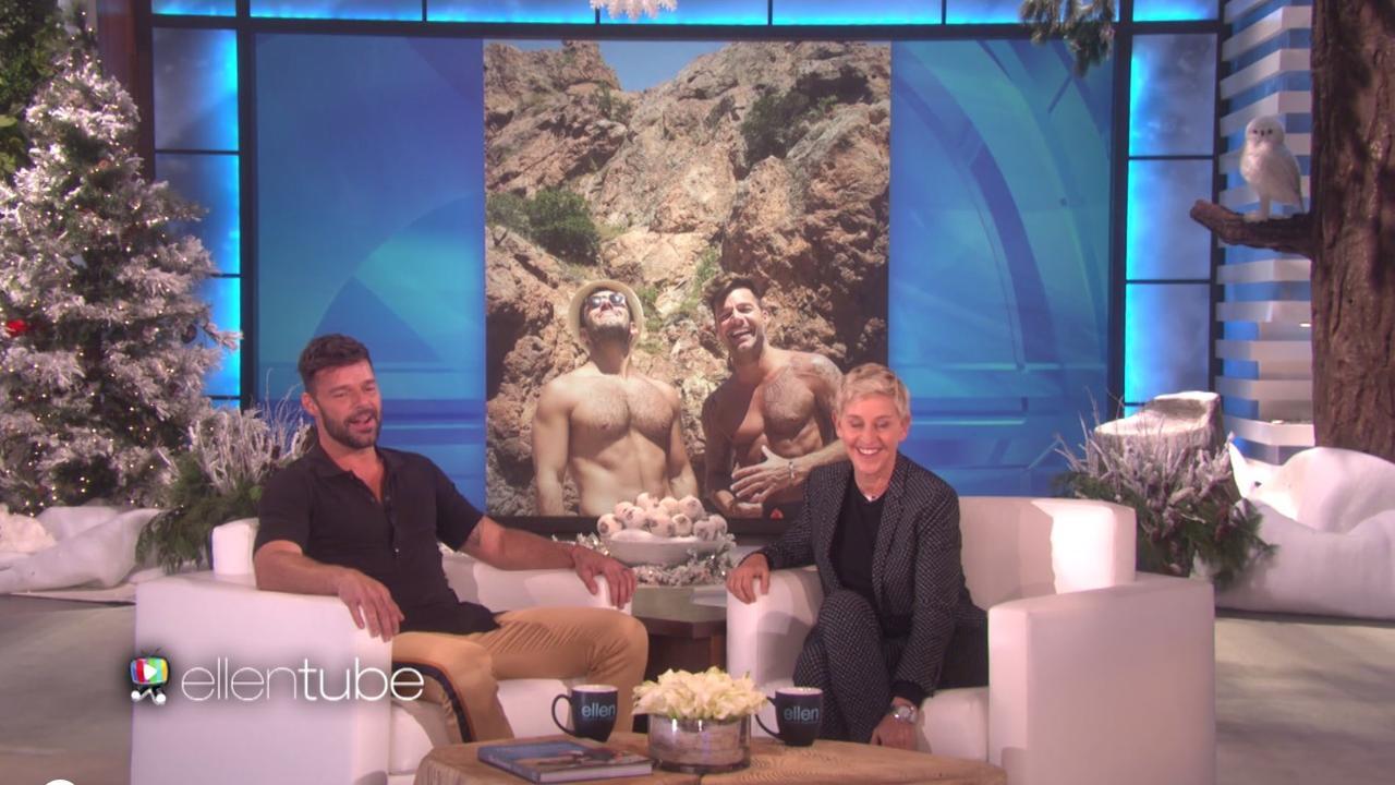 Ricky Martin vertelt over zijn verloofde bij Ellen DeGeneres