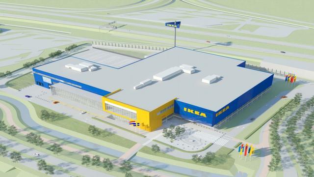 Beoogde IKEA-locatie in Leiderdorp wordt mogelijk bedrijventerrein