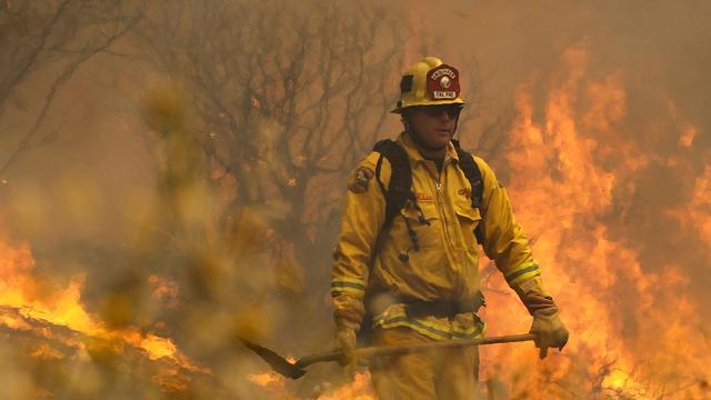 Natuurbranden in noorden Californië zwellen aan
