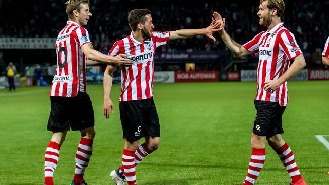 Sparta, Roda JC en NAC winnen allemaal in strijd tegen degradatie