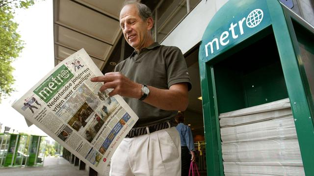 Dagelijkse strip Snippers in dagblad Metro stopt