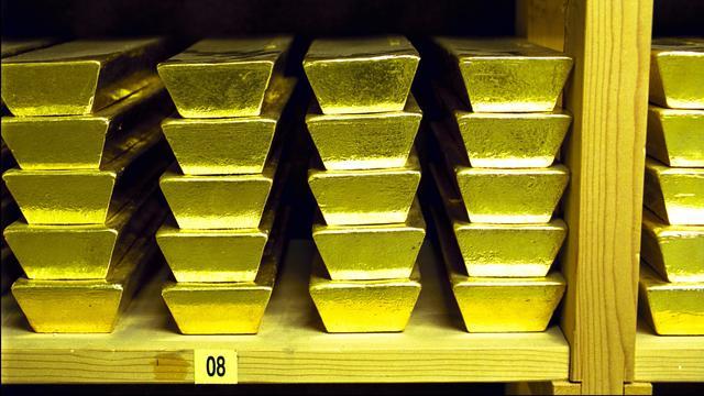 Goud en aandelen bewegen sterk tegenovergesteld
