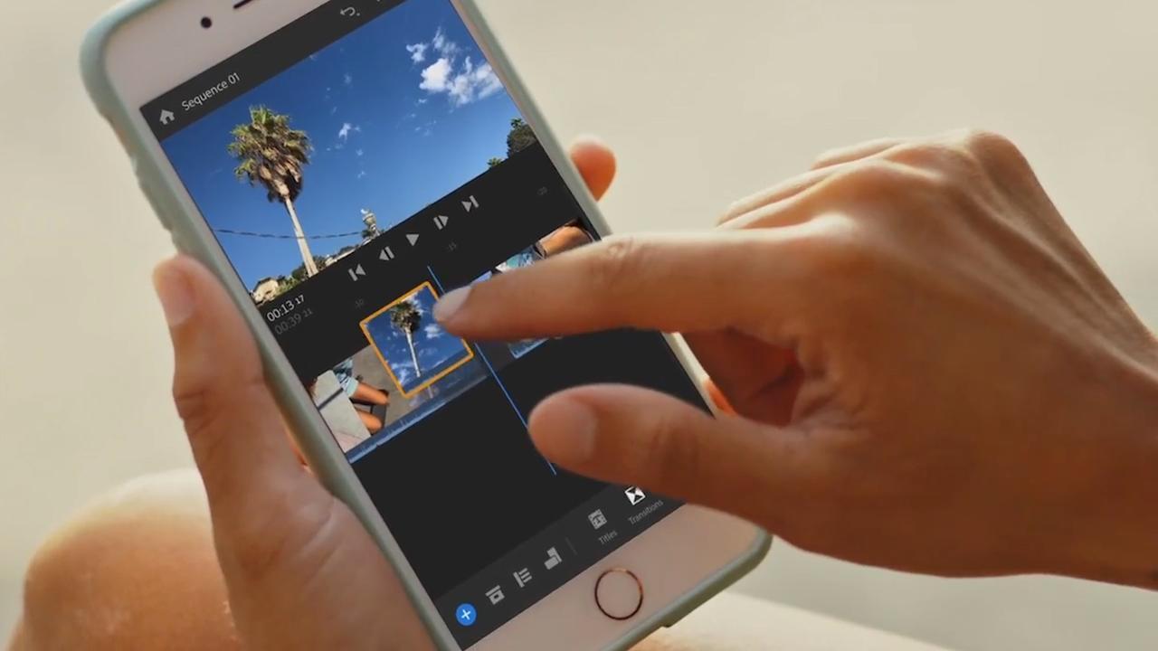 Monteer en deel je video's met de app Rush van Adobe