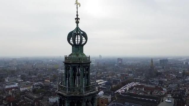 Valbeveiliging in kroon Martinitoren opgeknapt