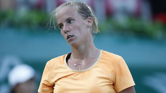 Hogenkamp verliest van Alexandrova in eerste ronde in Praag