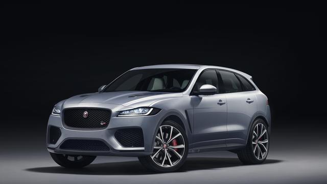 Jaguar presenteert F-Pace SVR op beursvloer New York