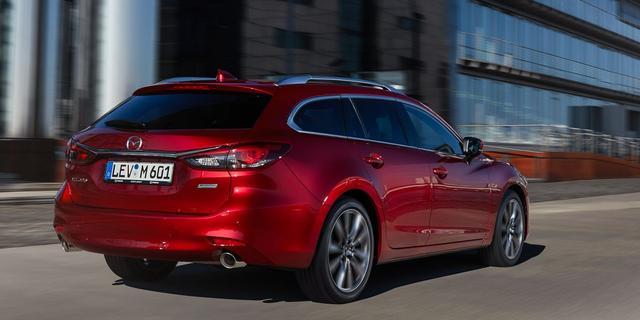 Opgewaardeerde Mazda 6 Sportbreak in beeld