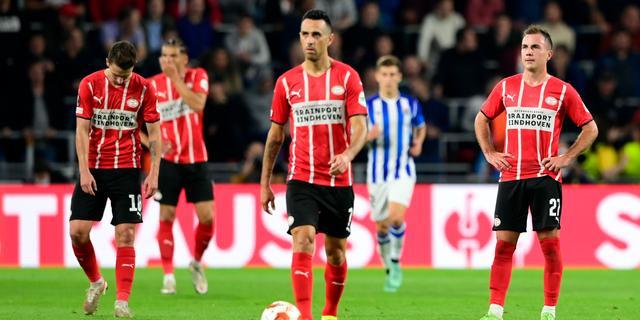 PSV pakt slechts punt: 'Soms moet je meer met je hoofd dan met je hart spelen'