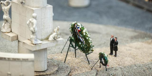 Nationale Kinderherdenking in Madurodam gaat ondanks coronacrisis door