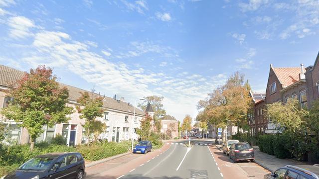 Eerste aanrijding 'veiligere' fietsrotonde Herenstraat in Leiden