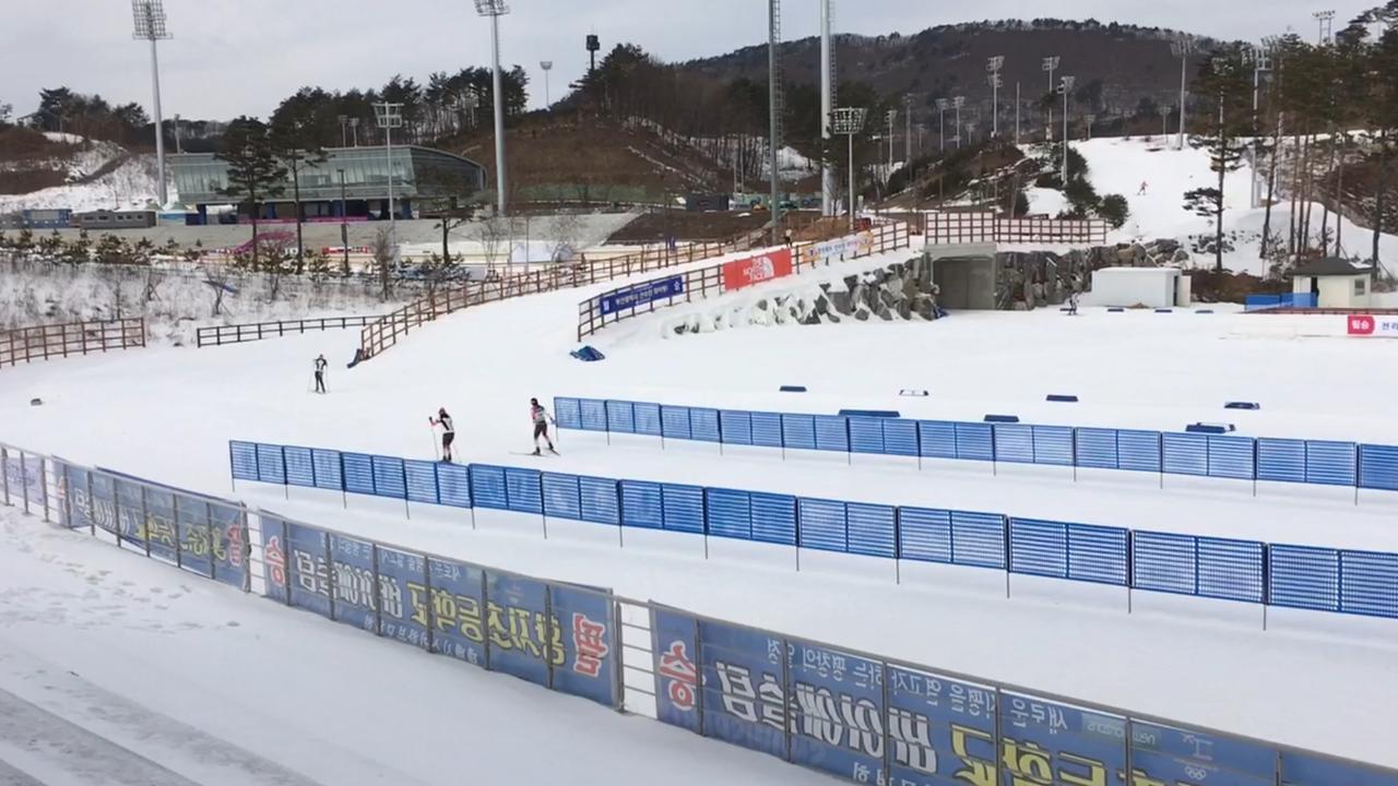 Zo ziet het olympische park in Zuid-Korea er een jaar voor de Spelen uit