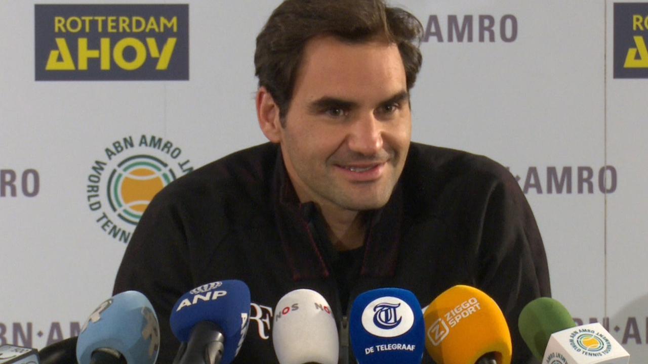 Federer gaat in Ahoy 'alles geven' voor nummer 1-positie
