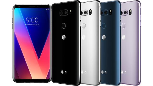 LG onthult V30-smartphone met groter OLED-scherm