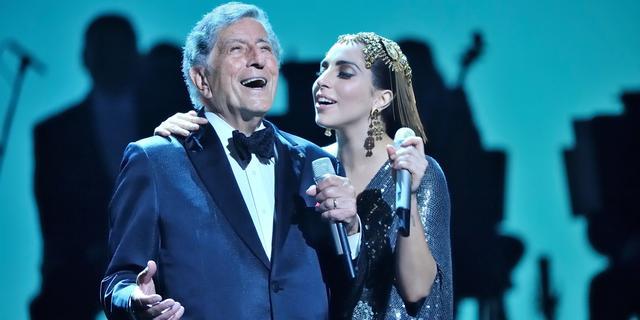 Album met Lady Gaga wordt laatste plaat van 95-jarige Tony Bennett