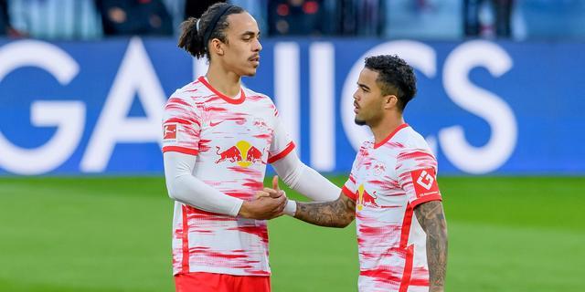 Kluivert scoort voor Leipzig, Wolfsburg en Dortmund hebben CL-ticket binnen