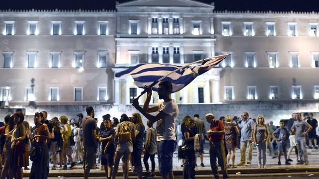 'Maandag geen akkoord over Griekse schuldverlichting'